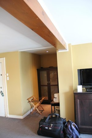 Hotel Acadia : La partie dressing