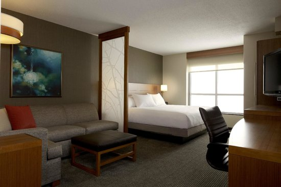 Awesome King Bed With Sofa Bed Picture Of Hyatt Place At Anaheim Short Links Chair Design For Home Short Linksinfo