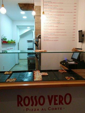 Pizza Rosso Vero : Pizza!!!!