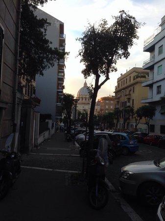 Colazione Al Vaticano: Vista dal portone
