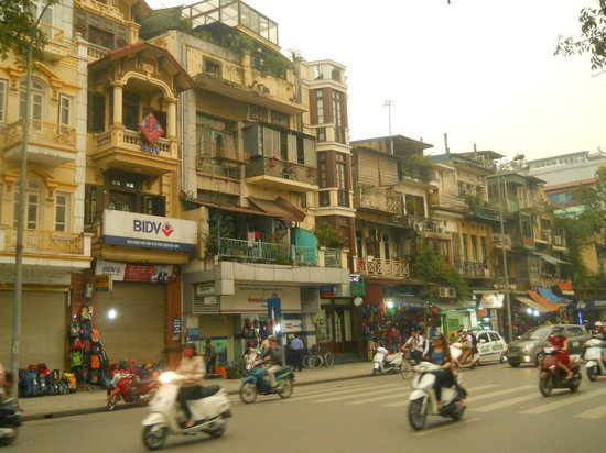 Hanoi Tirant Hotel: Old town Hanoi where Tirant hotel is located