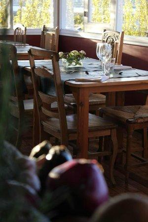 Cauquenes de Nimez: Nuestro comedor al atardecer