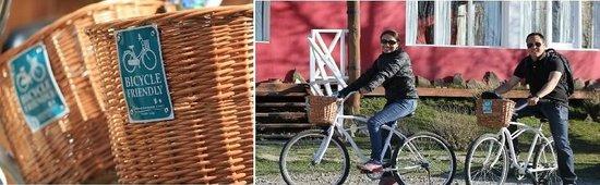 Cauquenes de Nimez: Bicicletas free para nuestros huéspedes