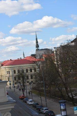 Europa Royale Riga: Вид из окна по левую руку