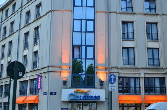 Citadines Sainte-Catherine Brussels: Hotel from outside
