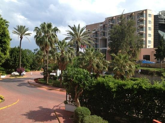 PGS Kiris Resort : вид с нашено балкона