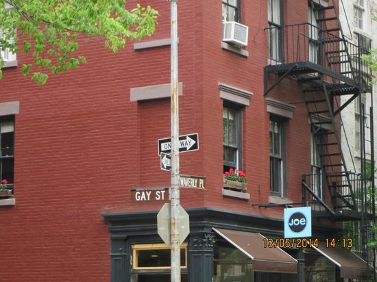 Greenwich Village : Houses on Gay Street