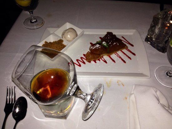 Sea Fire Grill : Hennessy XO and Desert