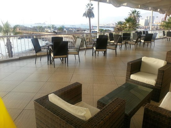 Hotel Antofagasta: Terraza