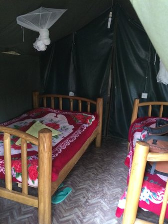 Mara Sidai Camp: Inside of tent