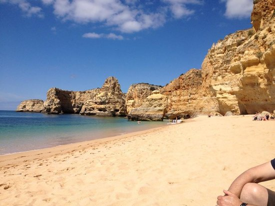 Monte Santo Resort: Praia de Marinha