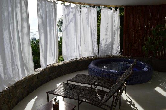 Vila d'este : Master suite balcony