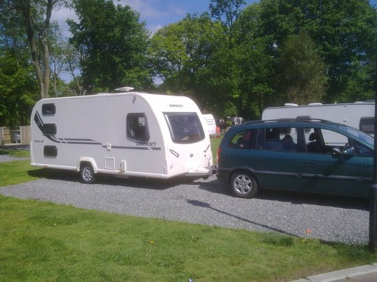 Thriftwood Holiday Park: Spacious Pitches