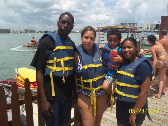 Clearwater Beach Jet Ski  Rentals and Guided Tours : The fam
