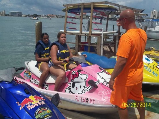 Clearwater Beach Jet Ski  Rentals and Guided Tours : Getting ready