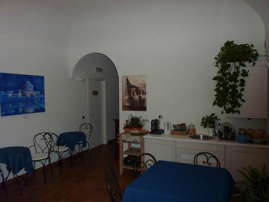 Domus Quiritum B&B: Breakfast Area