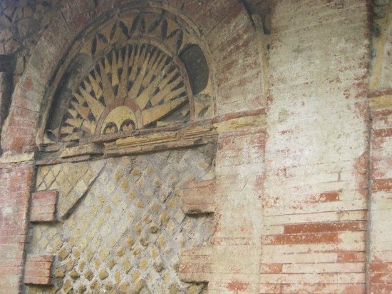 Ostia Antica: Wall decoration