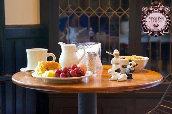 Made INN Vermont, an Urban-Chic Bed and Breakfast: Mixing contemporary culture with New England Heritage. Perfectly placed -experience Vermont!