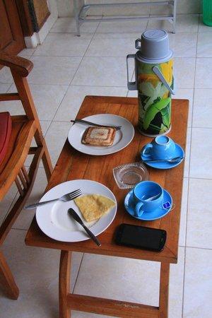 Gusti's Homestay: Un super petit déjeuner