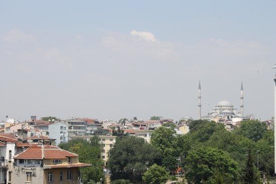 Ramada Istanbul Grand Bazaar : Vue de la chambre 604