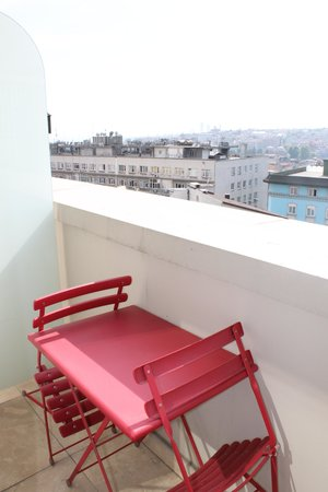 Ramada Istanbul Grand Bazaar: Petit balcon privé
