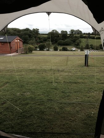 Whitehill Country Park: View from tent!