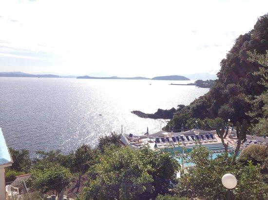 Hotel Bagnitiello: Panorama dalla camera