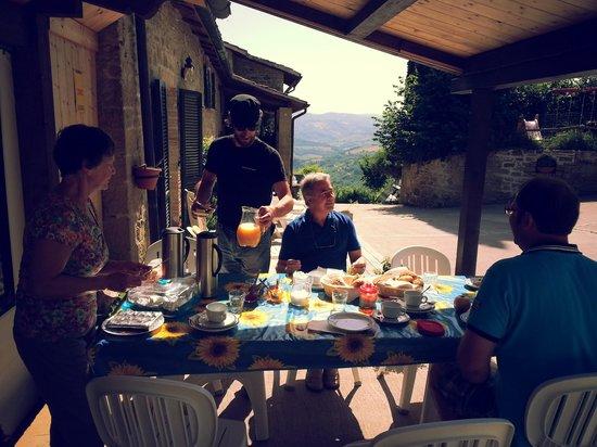 Fratticiola Selvatica, Italia: ontbijt