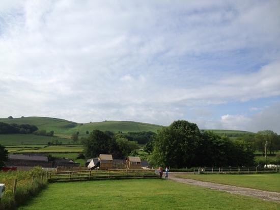 Beech Croft Farm: views and play area 1