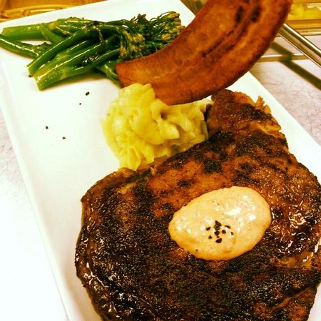 Sage Steakhouse @ Kickapoo Lucky Eagle Casino : Kobe Ribeye