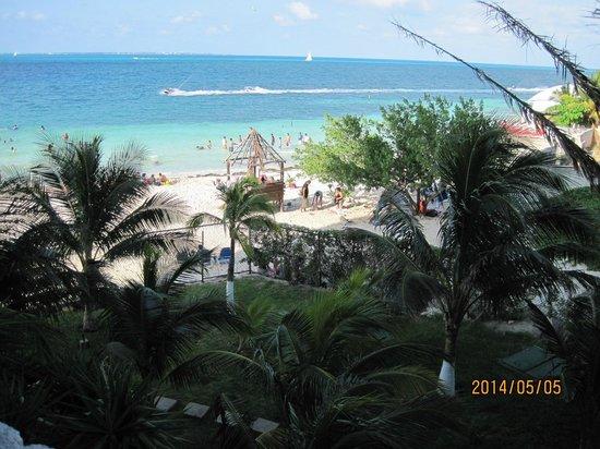 Casa Maya Cancun: Vista desde el balcón