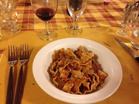Fattoria Poggio Alloro: Best Bolognese/homemade pasta