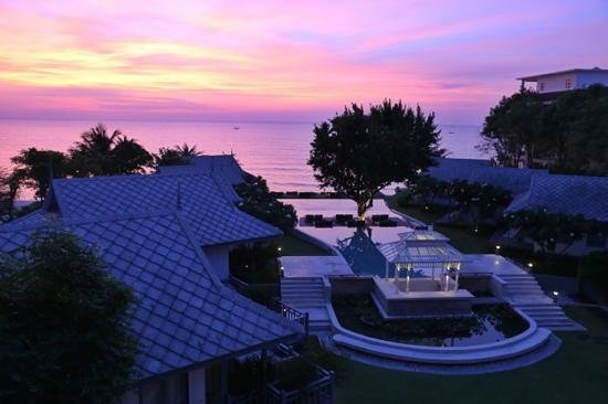 Devasom Hua Hin Resort: Every morning seemed to look like this.