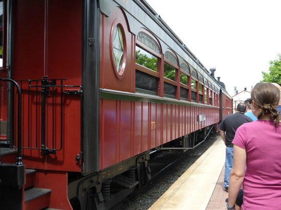 Strasburg Rail Road: These are the dining trains