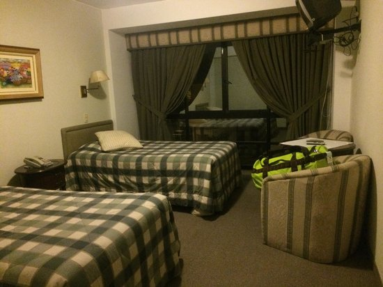 Hotel Monte Real: Decent room