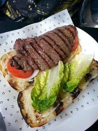 Cau : Steak sandwich