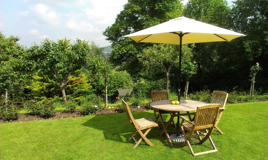 Tasburgh House Hotel Ltd : beautiful large lawn