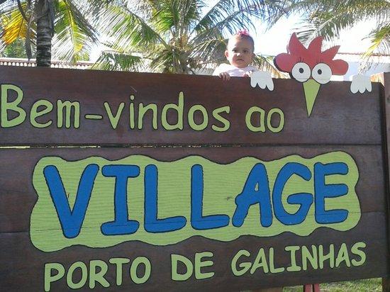 Village Porto de Galinhas: área externa