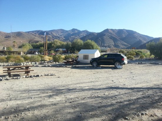 Panamint Springs Resort: Camp Site