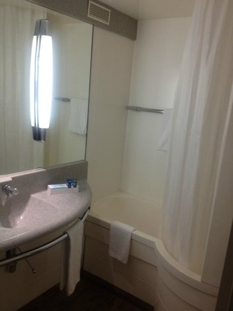Novotel Paris Est: unit-bathroom