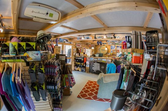 Wild Alpine - Day Tours: Visit our shop in McCarthy for new and used mountain equipment, rentals and more