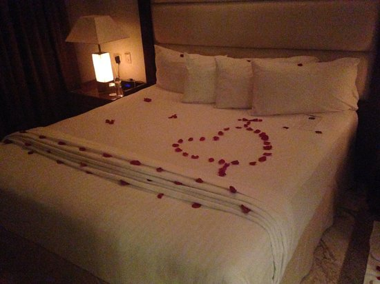 The Reserve at Paradisus Palma Real: They did this for our wedding night