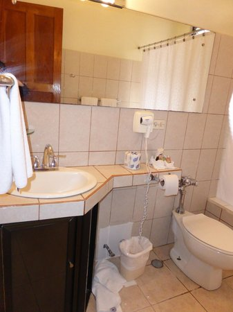Adventure Inn: Bathroom
