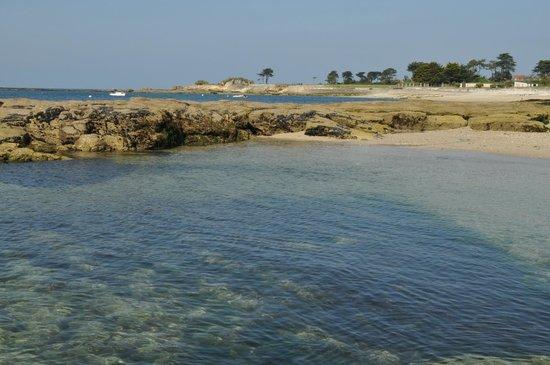 Les Mouettes : Une plage à l'eau limpide