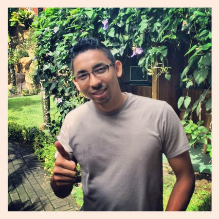 Arenal Hostel Resort: Jose from reception!