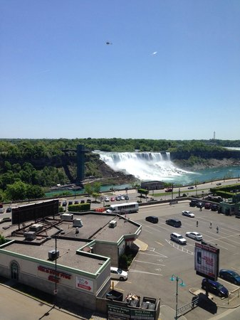Crowne Plaza Niagara Falls - Fallsview : View from room 719.
