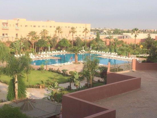 Palm Plaza Marrakech Hotel & Spa: Vue de la chambre