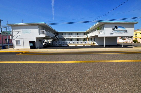 Stardust Motel in Wildwood Day Photo