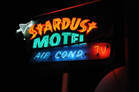 Stardust Motel in Wildwood Classic Neon Sign