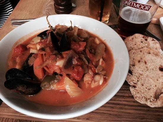 Polgooth Inn: Seafood Stew
